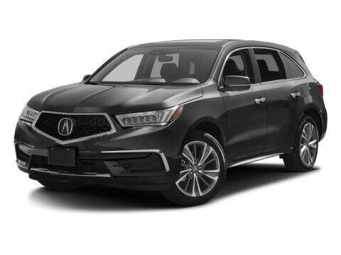 2017 Acura MDX for sale at Auto Finance of Raleigh in Raleigh NC