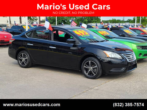 2014 Nissan Sentra for sale at Mario's Used Cars in Houston TX