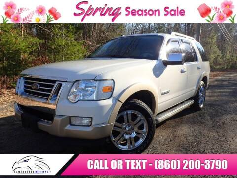 2008 Ford Explorer for sale at EAGLEVILLE MOTORS LLC in Storrs CT
