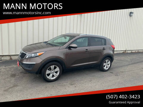2011 Kia Sportage for sale at MANN MOTORS in Albert Lea MN