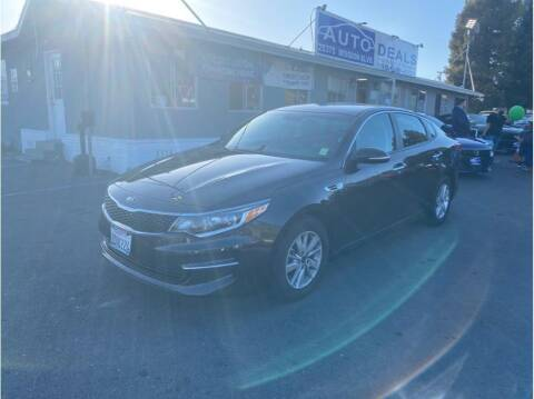 2018 Kia Optima for sale at AutoDeals in Daly City CA