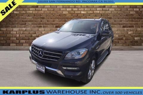2014 Mercedes-Benz M-Class for sale at Karplus Warehouse in Pacoima CA