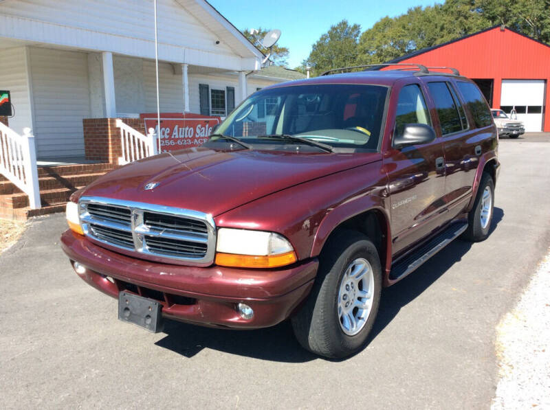 2001 Dodge Durango for sale at Ace Auto Sales - $800 DOWN PAYMENTS in Fyffe AL