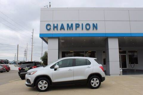 2020 Chevrolet Trax for sale at Champion Chevrolet in Athens AL
