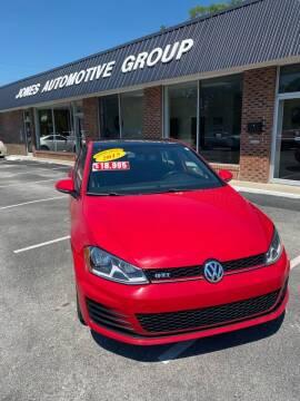 2015 Volkswagen Golf GTI for sale at Jones Automotive Group in Jacksonville NC