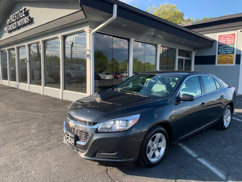 2014 Chevrolet Malibu for sale at Prestige Pre - Owned Motors in New Windsor NY