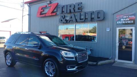 2015 GMC Acadia for sale at EZ Tire & Auto in North Tonawanda NY
