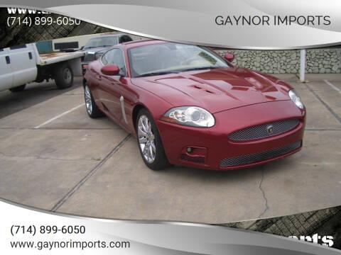2007 Jaguar XK-Series for sale at Gaynor Imports in Stanton CA
