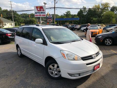 2005 Toyota Sienna for sale at KB Auto Mall LLC in Akron OH