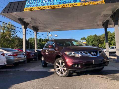 2014 Nissan Murano for sale at Auto Smart Charlotte in Charlotte NC