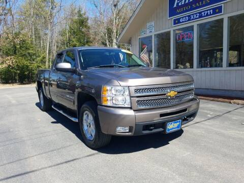 2012 Chevrolet Silverado 1500 for sale at Fairway Auto Sales in Rochester NH