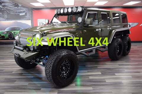 2021 Jeep Wrangler Unlimited for sale at Icon Exotics in Houston TX