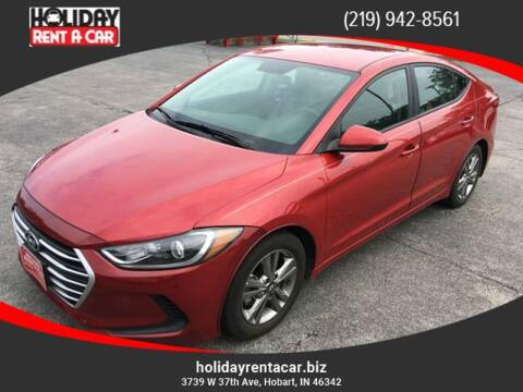 2017 Hyundai Elantra for sale at Holiday Rent A Car in Hobart IN