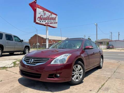 2012 Nissan Altima for sale at Southwest Car Sales in Oklahoma City OK