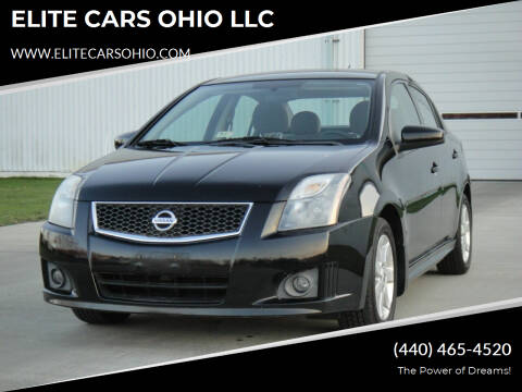 2011 Nissan Sentra for sale at ELITE CARS OHIO LLC in Solon OH