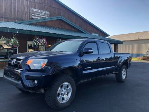 2012 Toyota Tacoma for sale at Coeur Auto Sales in Hayden ID