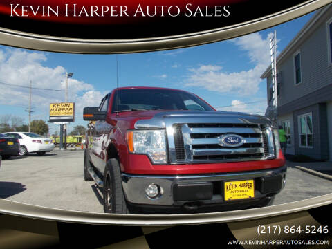 2010 Ford F-150 for sale at Kevin Harper Auto Sales in Mount Zion IL