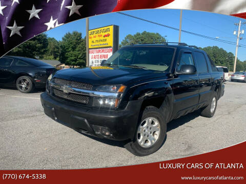 2004 Chevrolet Avalanche for sale at Luxury Cars of Atlanta in Snellville GA