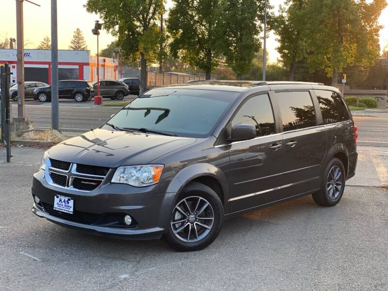 2017 Dodge Grand Caravan for sale at KAS Auto Sales in Sacramento CA