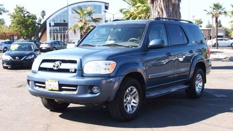 2007 Toyota Sequoia for sale at Okaidi Auto Sales in Sacramento CA