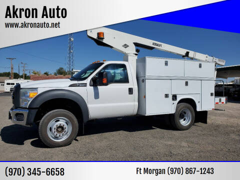 2012 Ford F-450 Super Duty for sale at Akron Auto in Akron CO