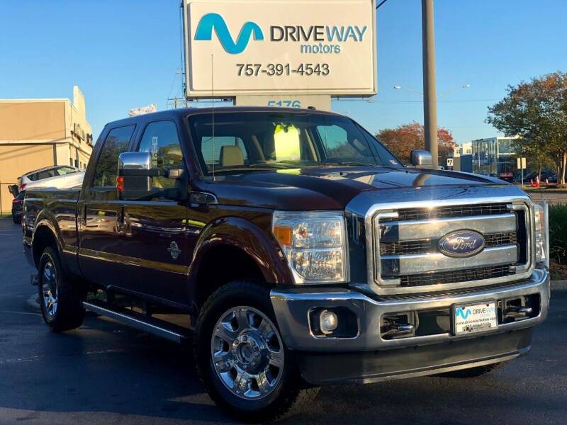 2016 Ford F-250 Super Duty for sale at Driveway Motors in Virginia Beach VA