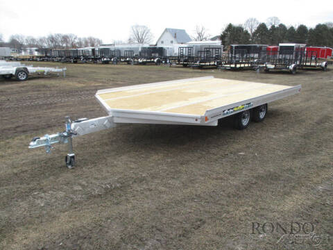 2022 Aluma Snowmobile 8614D-TA-EL-R-12SL for sale at Rondo Truck & Trailer in Sycamore IL