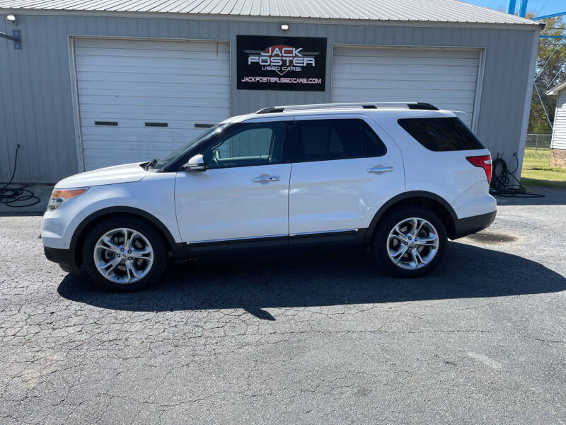 2014 Ford Explorer for sale at Jack Foster Used Cars LLC in Honea Path SC
