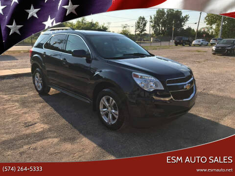 2015 Chevrolet Equinox for sale at ESM Auto Sales in Elkhart IN
