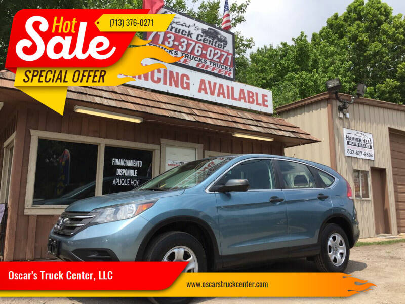 2014 Honda CR-V for sale at Oscar's Truck Center, LLC in Houston TX