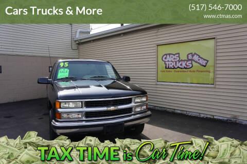 1995 Chevrolet C/K 1500 Series for sale at Cars Trucks & More in Howell MI