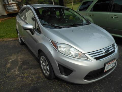 2013 Ford Fiesta for sale at ROTH'S AUTO SVC in Wadsworth OH