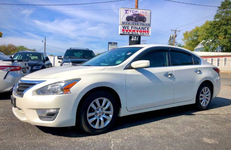 2015 Nissan Altima for sale at Top Line Import in Haverhill MA