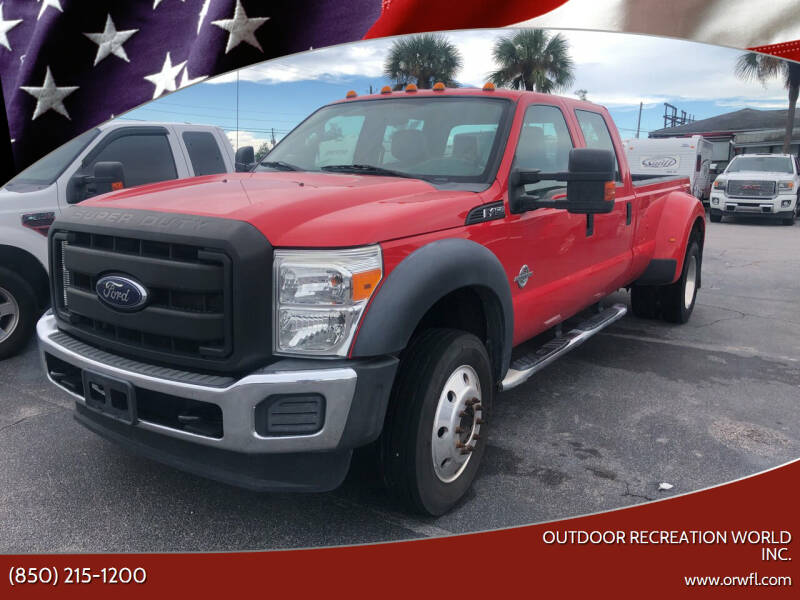 2016 Ford F-450 Super Duty for sale at Outdoor Recreation World Inc. in Panama City FL