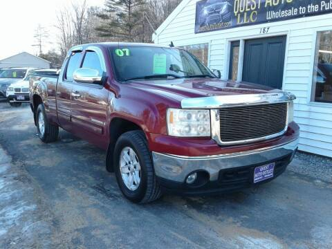 2007 GMC Sierra 1500 for sale at Quest Auto Outlet in Chichester NH