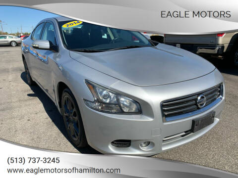 2014 Nissan Maxima for sale at Eagle Motors in Hamilton OH
