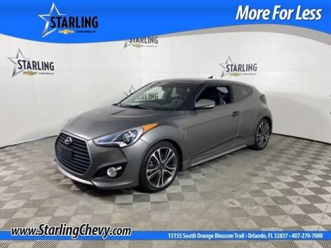 2016 Hyundai Veloster for sale at Pedro @ Starling Chevrolet in Orlando FL