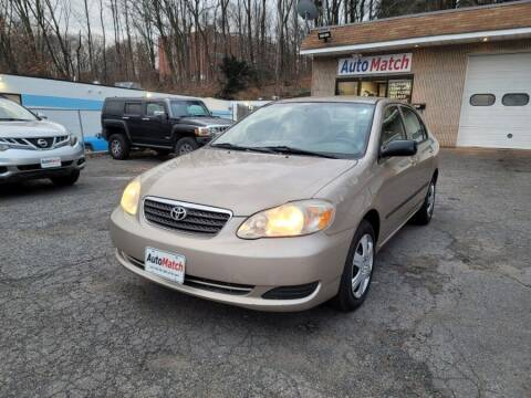 2008 Toyota Corolla for sale at Auto Match in Waterbury CT