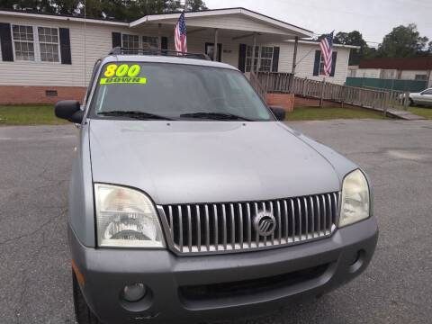 2005 Mercury Mountaineer for sale at Rickey T's Auto Sales in Garden City GA