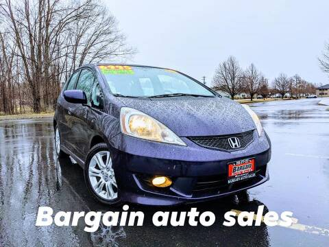 2010 Honda Fit for sale at Bargain Auto Sales LLC in Garden City ID