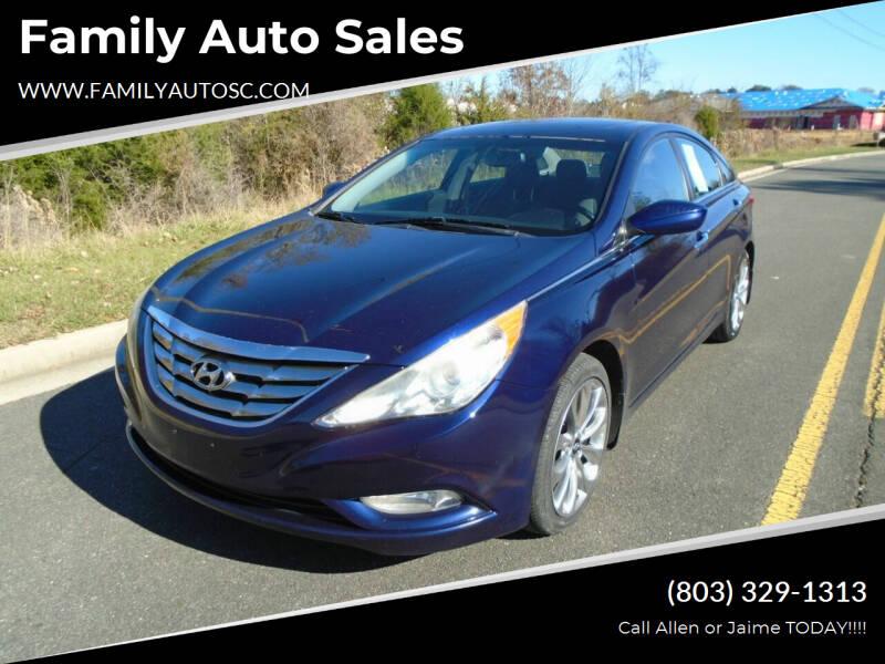 2011 Hyundai Sonata for sale at Family Auto Sales in Rock Hill SC