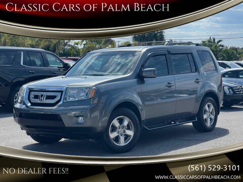 2011 Honda Pilot for sale at Classic Cars of Palm Beach in Jupiter FL