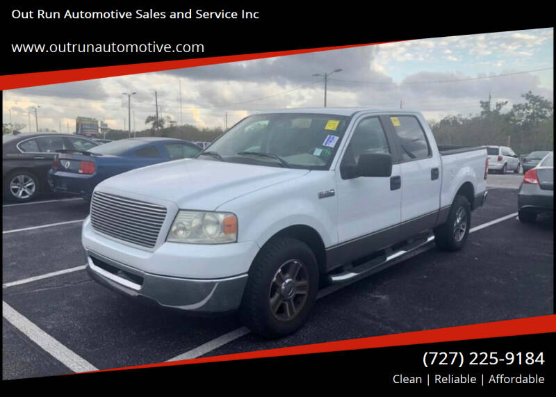 2006 Ford F-150 for sale at Out Run Automotive Sales and Service Inc in Tampa FL