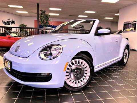 2014 Volkswagen Beetle for sale at SAINT CHARLES MOTORCARS in Saint Charles IL