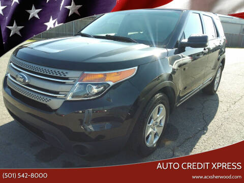 2013 Ford Explorer for sale at Auto Credit Xpress in North Little Rock AR