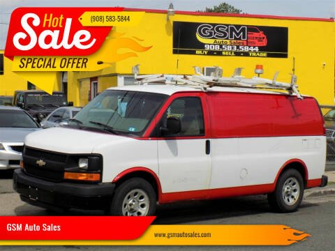2009 Chevrolet Express Cargo for sale at GSM Auto Sales in Linden NJ