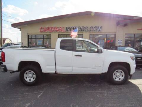 2016 Chevrolet Colorado for sale at Cardinal Motors in Fairfield OH