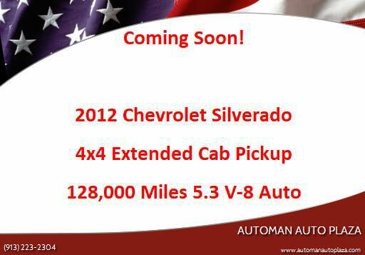 2012 Chevrolet Silverado 1500 for sale at Automan Auto Plaza in Kansas City MO