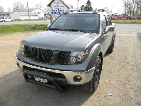 2006 Nissan Frontier for sale at Northwest Auto Sales in Farmington MN