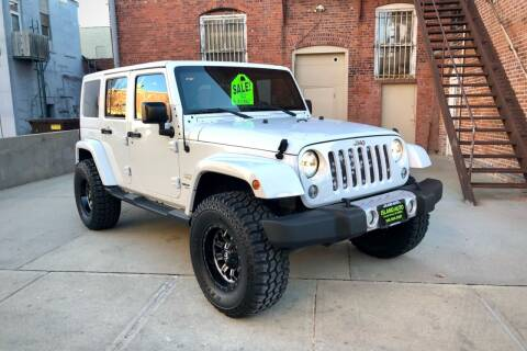 2015 Jeep Wrangler Unlimited for sale at Island Auto in Grand Island NE